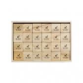 くすのき積み木 立方体 48ピース