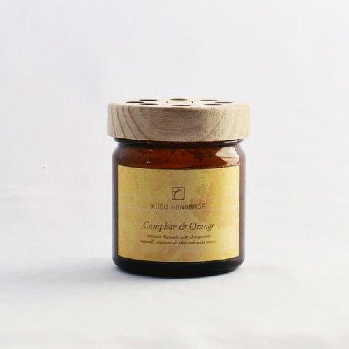 くすのきアロマジェル カンフル&オレンジの香り