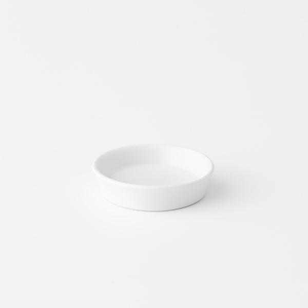 吉田焼アロマディッシュプレート 白