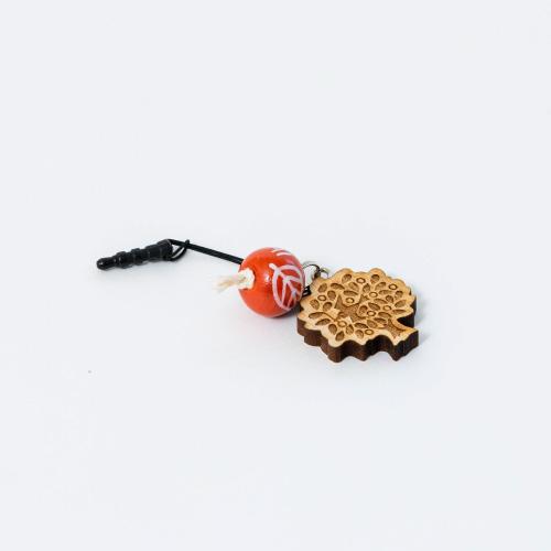 MOTTAINAI チャームストラップ オレンジ